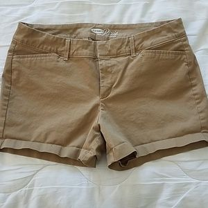 Old navy pixie shorts size 6